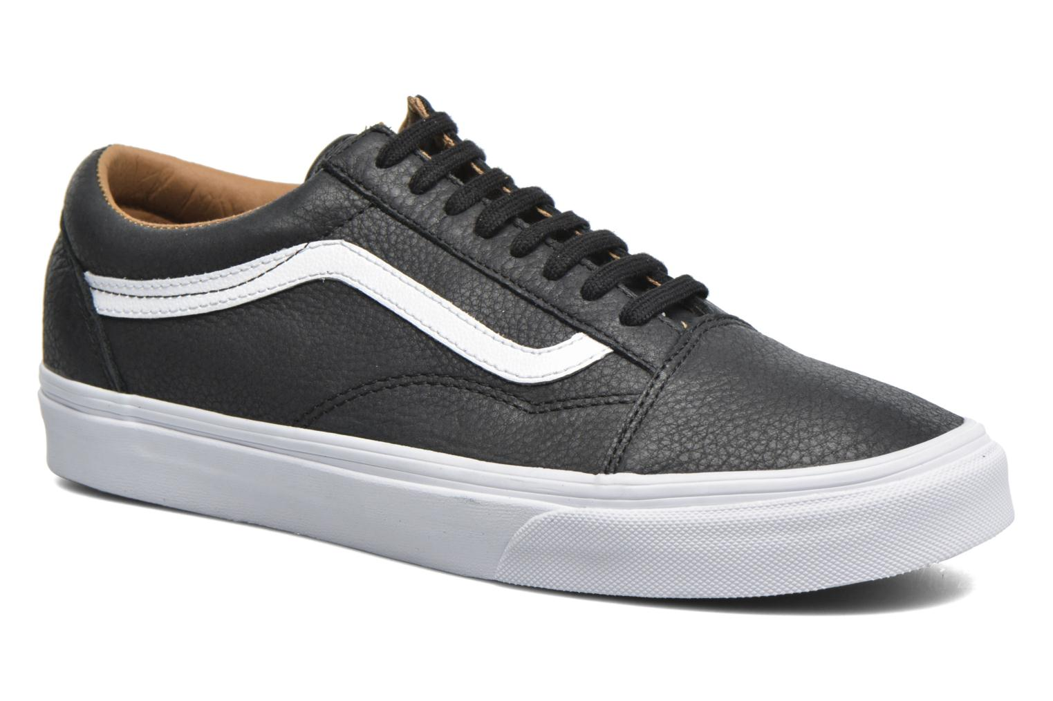 Old Skool (Premium Leather) Black/True White/White