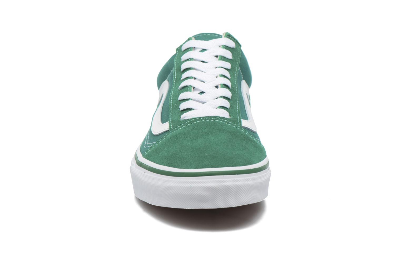 Deportivas Vans Old Skool Verde vista del modelo