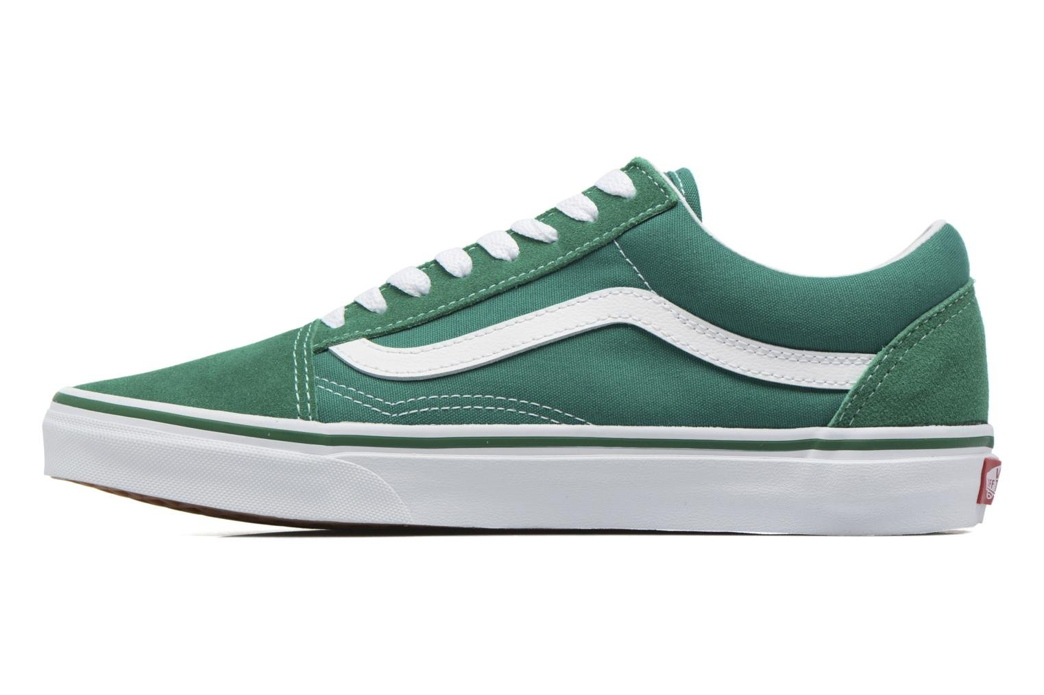 Old Skool (Suede/Canvas) Ultramarine Green/True White