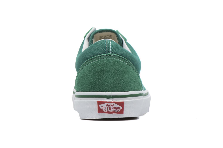 Sneaker Vans Old Skool grün ansicht von rechts
