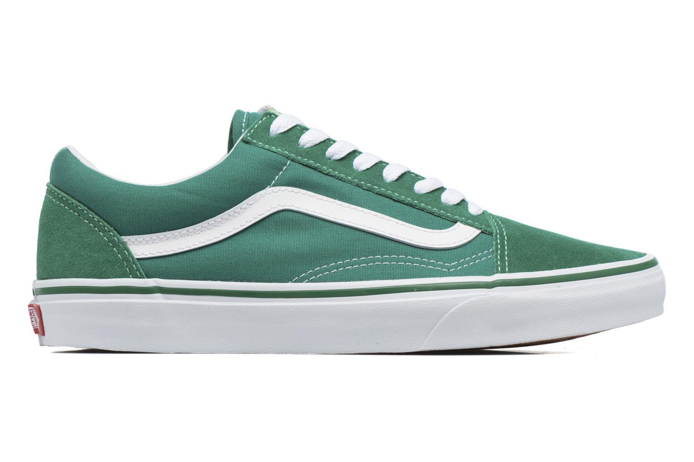 Sneaker Vans Old Skool grün ansicht von hinten