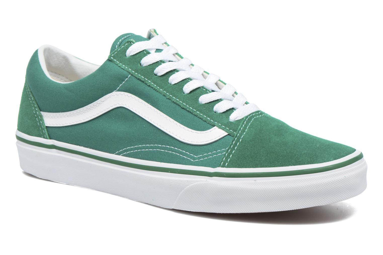 Old Skool (Suede/Canvas) Ultramarine Green/True White
