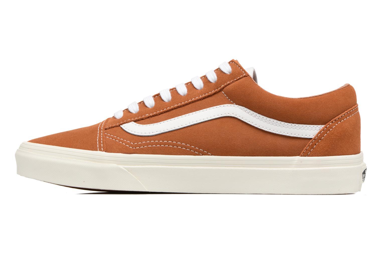 Sneakers Vans Old Skool Brun se forfra
