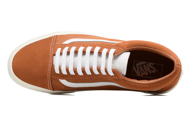 Sneakers Vans Old Skool Brun bild från vänster sidan