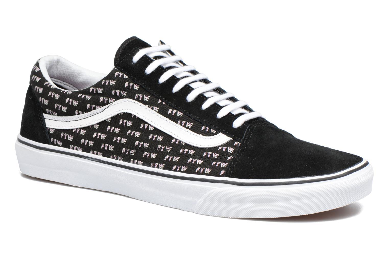 Sneaker Vans Old Skool schwarz detaillierte ansicht/modell