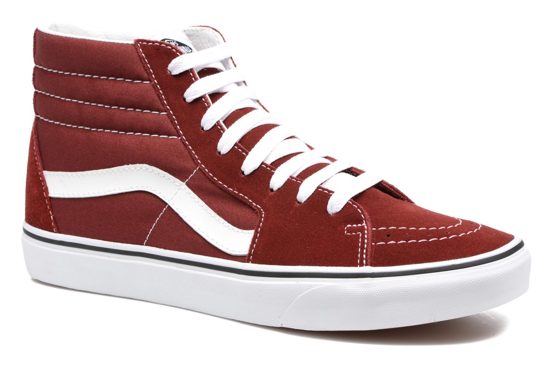 Sneaker Vans SK8 Hi M weinrot detaillierte ansicht/modell