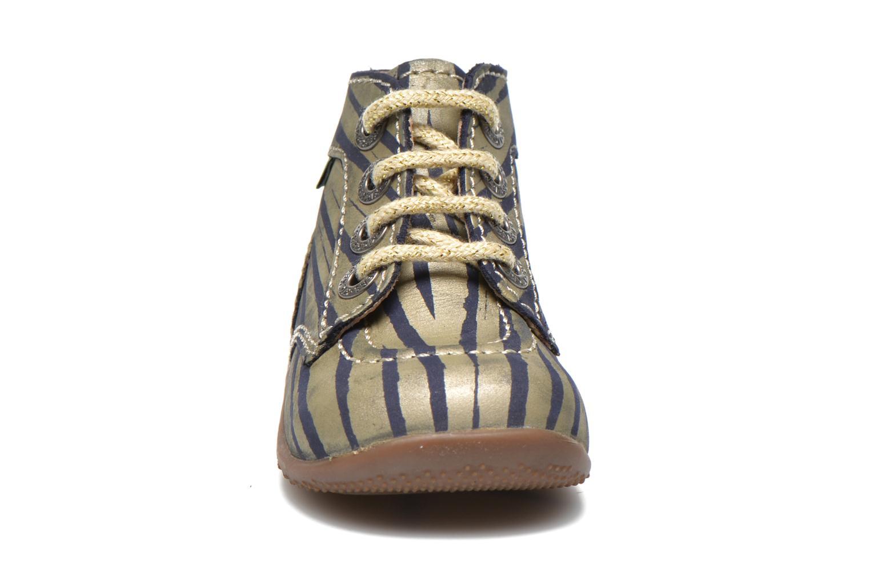 Stiefeletten & Boots Kickers Bonbon gold/bronze schuhe getragen