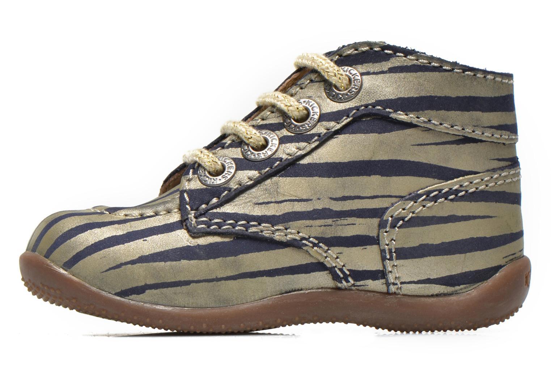 Stiefeletten & Boots Kickers Bonbon gold/bronze ansicht von vorne