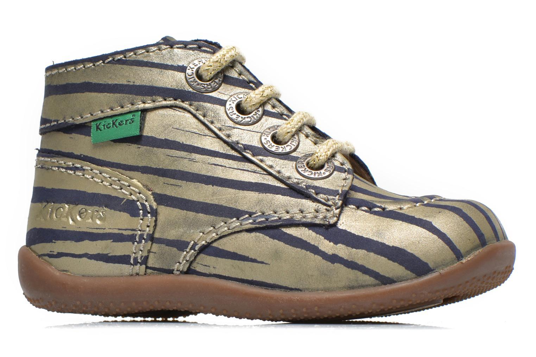 Stiefeletten & Boots Kickers Bonbon gold/bronze ansicht von hinten