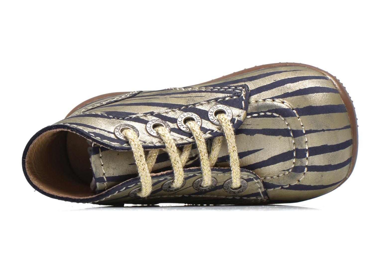Stiefeletten & Boots Kickers Bonbon gold/bronze ansicht von links