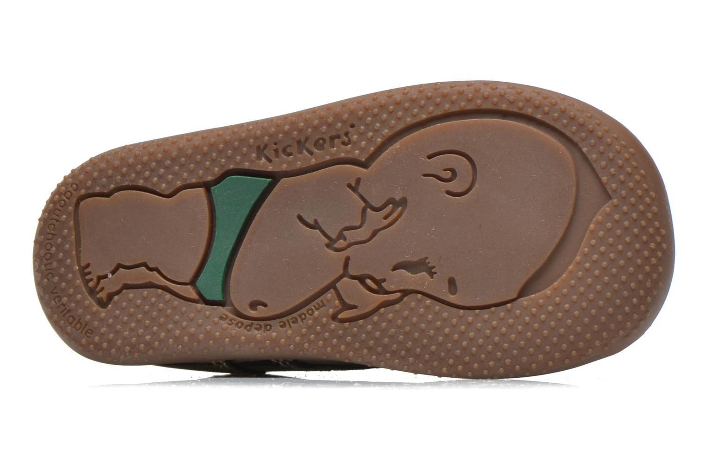 Stiefeletten & Boots Kickers Bonbon gold/bronze ansicht von oben