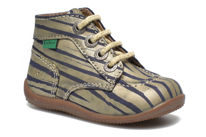 Stiefeletten & Boots Kickers Bonbon gold/bronze detaillierte ansicht/modell