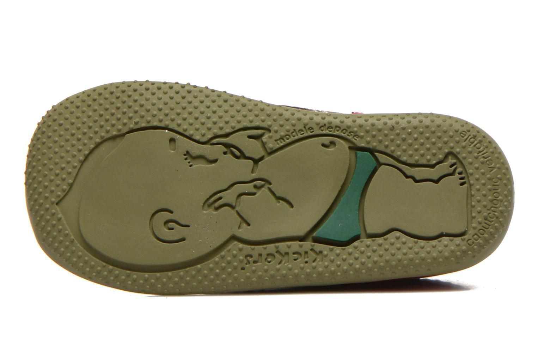 Stiefeletten & Boots Kickers Bonbon grau ansicht von oben