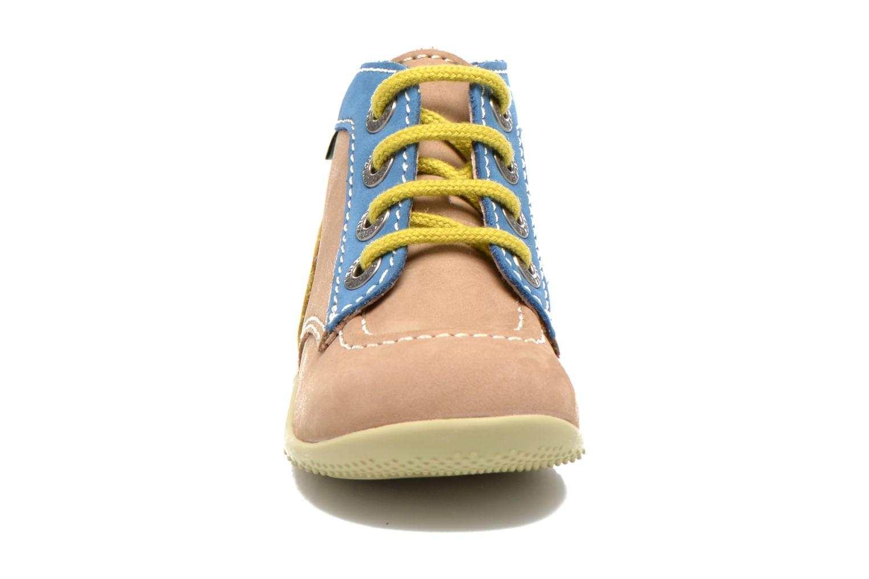 Bottines et boots Kickers Bonbon Beige vue portées chaussures
