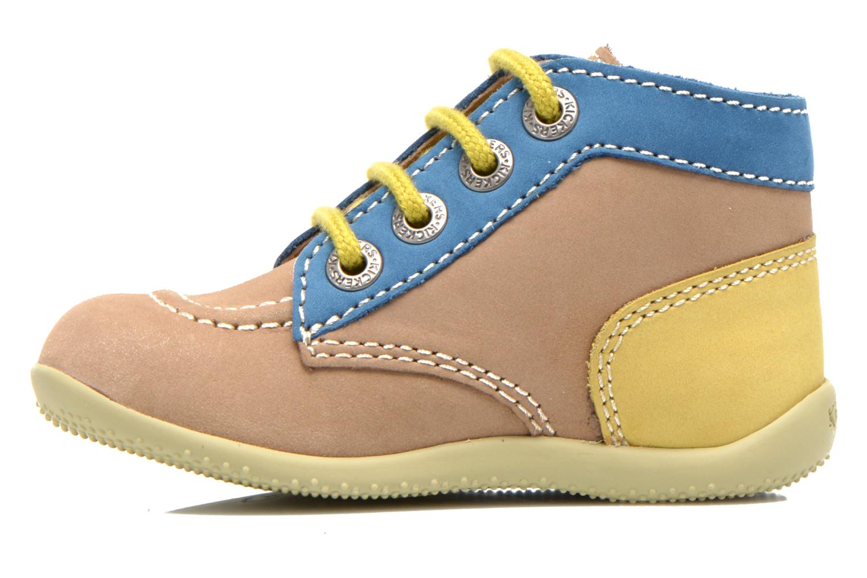Boots en enkellaarsjes Kickers Bonbon Beige voorkant