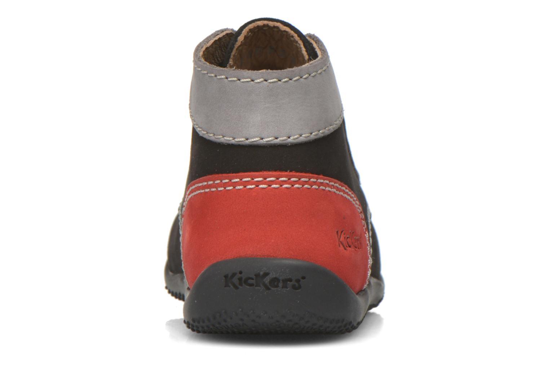 Stiefeletten & Boots Kickers Bonbon schwarz ansicht von rechts