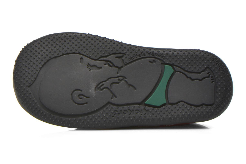 Bottines et boots Kickers Bonbon Noir vue haut