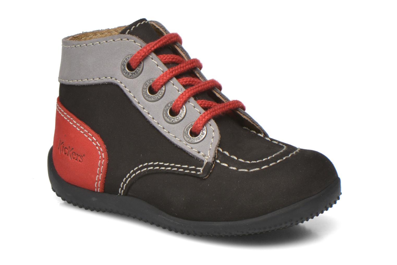 Stiefeletten & Boots Kickers Bonbon schwarz detaillierte ansicht/modell