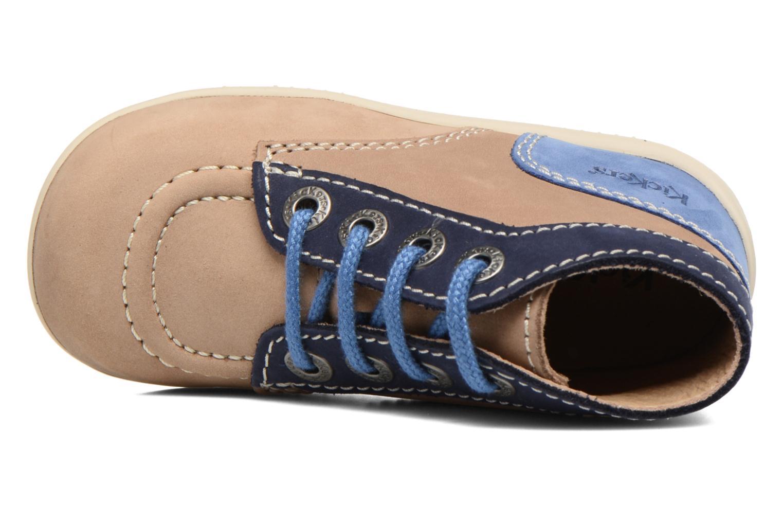 Stiefeletten & Boots Kickers Bonbon beige ansicht von links