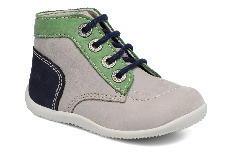 Ankelstøvler Kickers Bonbon Grå detaljeret billede af skoene
