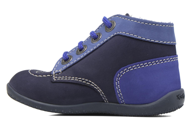 Bottines et boots Kickers Bonbon Bleu vue face