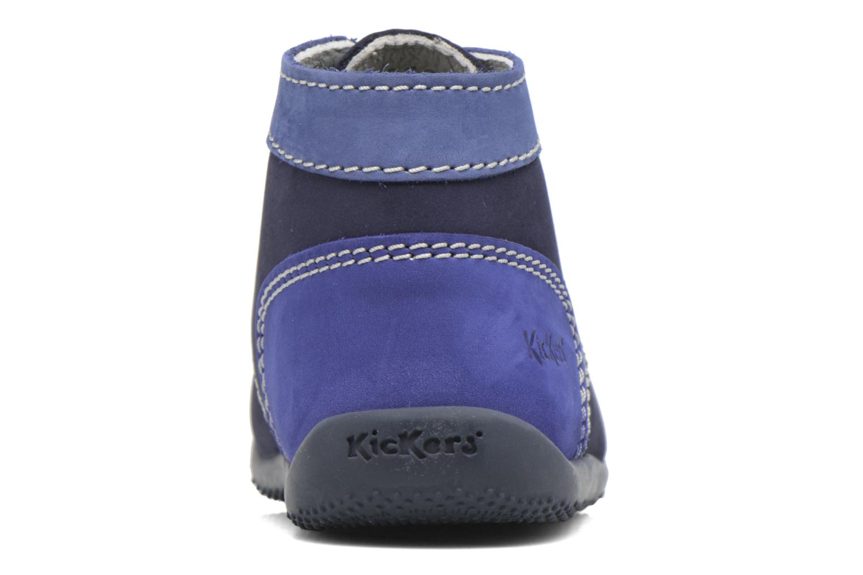 Stivaletti e tronchetti Kickers Bonbon Azzurro immagine destra