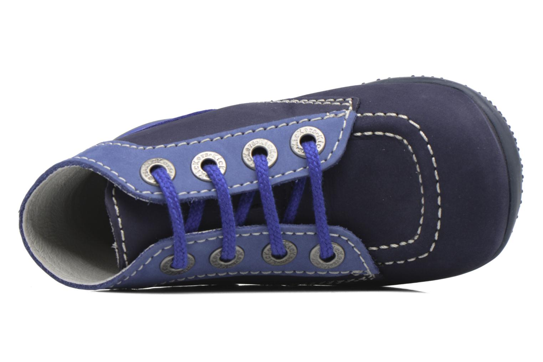Ankelstøvler Kickers Bonbon Blå se fra venstre