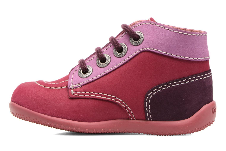 Boots en enkellaarsjes Kickers Bonbon Roze voorkant