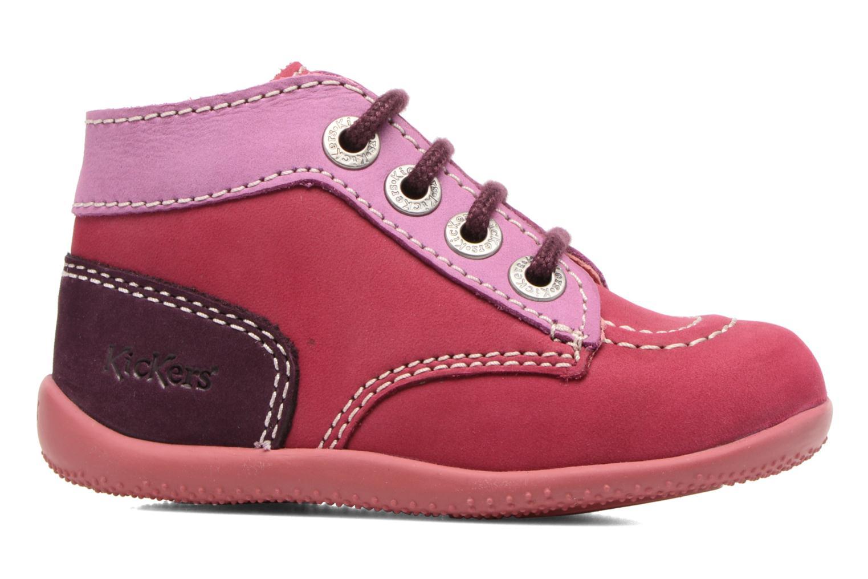 Boots en enkellaarsjes Kickers Bonbon Roze achterkant