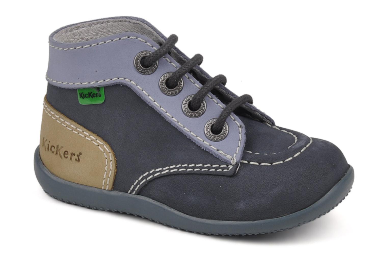 Stiefeletten & Boots Kickers Bonbon blau detaillierte ansicht/modell