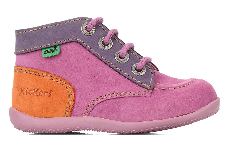 Stiefeletten & Boots Kickers Bonbon lila ansicht von hinten