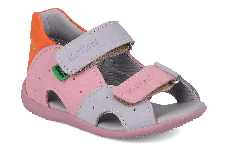 Sandales et nu-pieds Kickers Boan Violet vue détail/paire