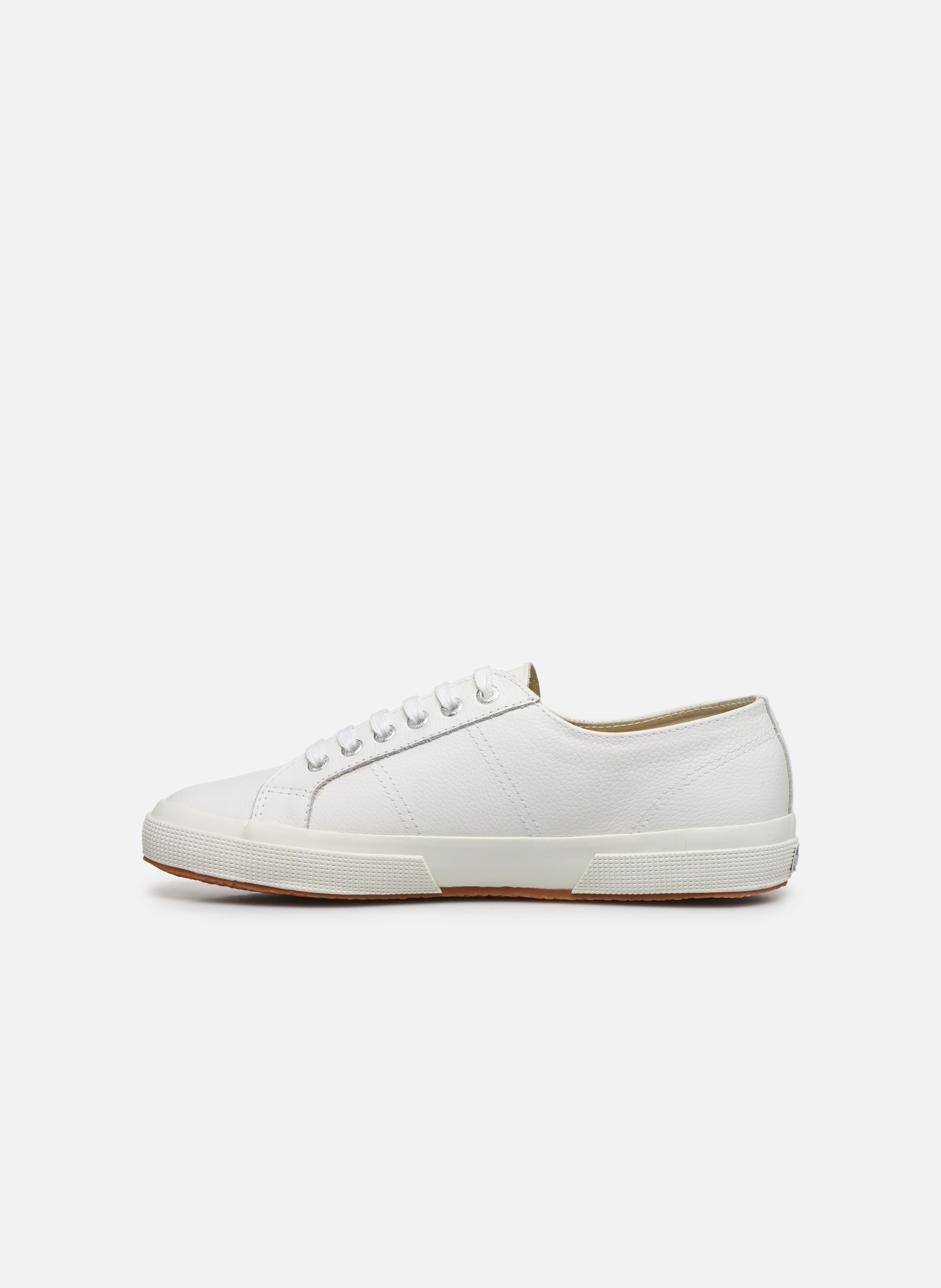 Trainers Superga 2750 FGLU White front view
