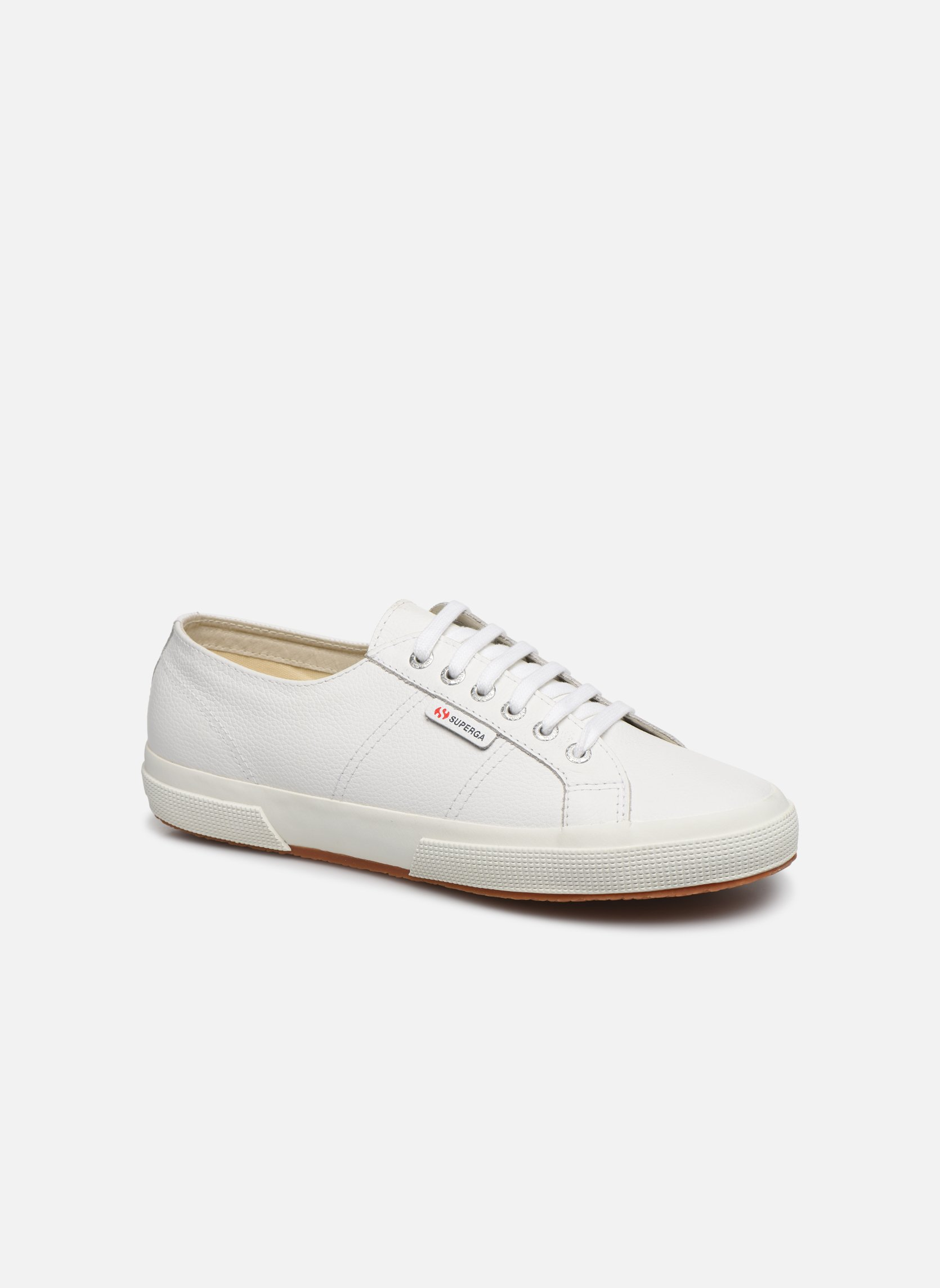 Trainers Superga 2750 FGLU White detailed view/ Pair view