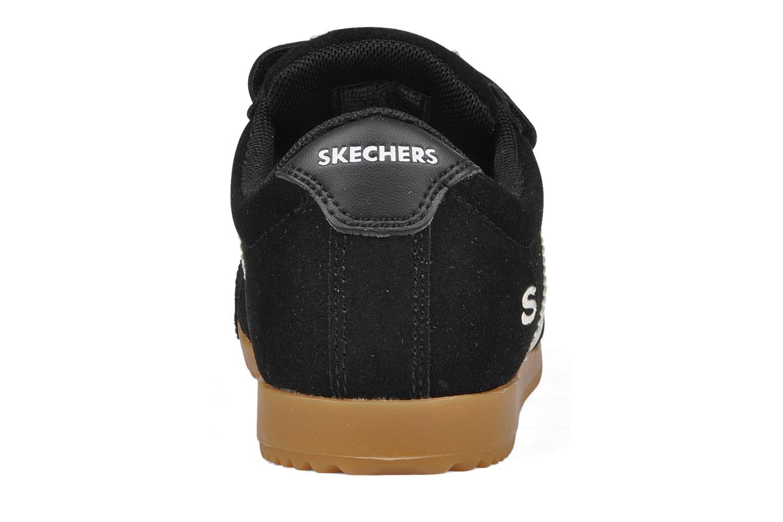 Sneakers Skechers Commemorate Zwart rechts