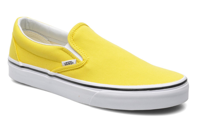 vans jaune noir