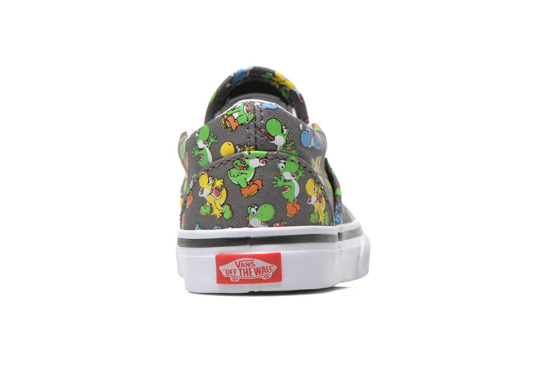 Sneakers Vans Classic Slip-on BB Grijs rechts