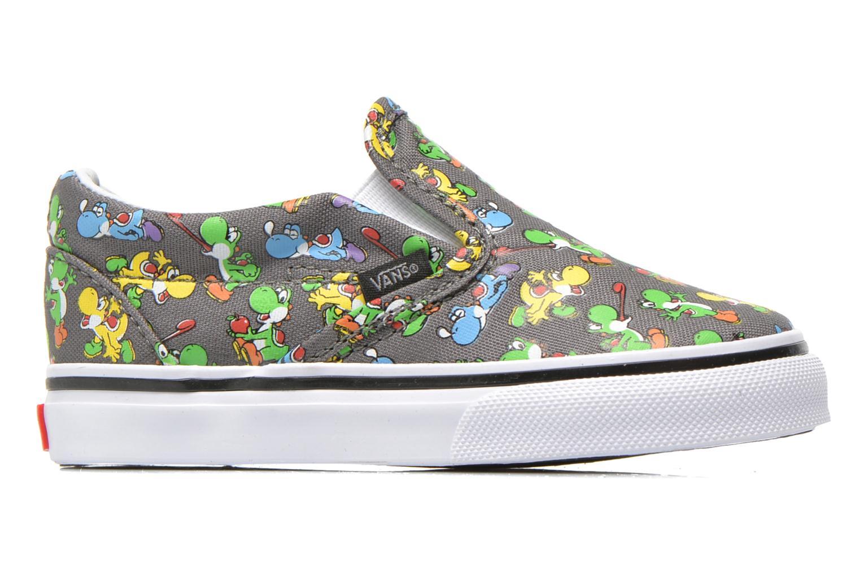 Sneaker Vans Classic Slip-on BB grau ansicht von hinten