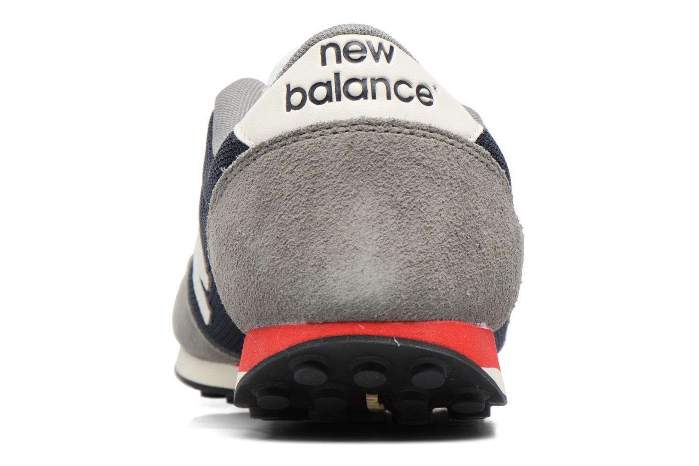 Baskets New Balance U410 Gris vue droite