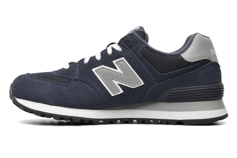 Sneaker New Balance M574 blau ansicht von vorne
