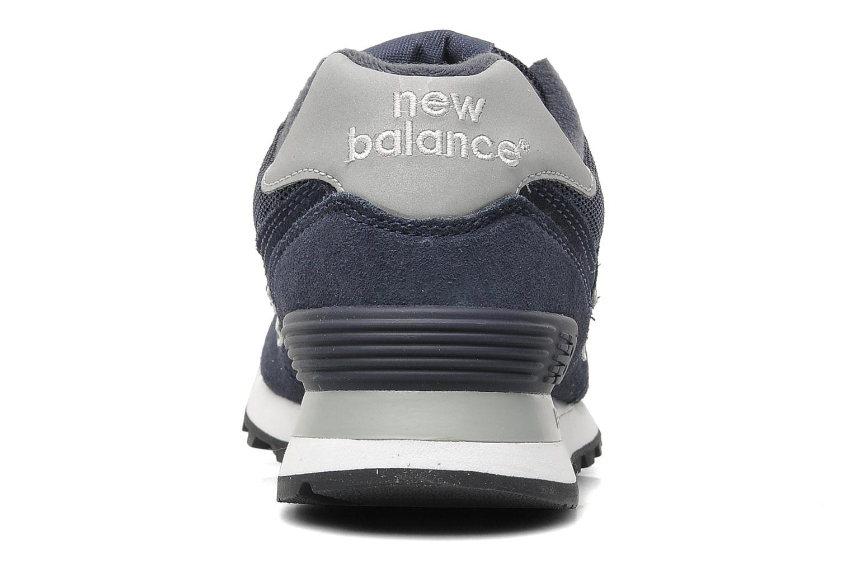 Baskets New Balance M574 Bleu vue droite