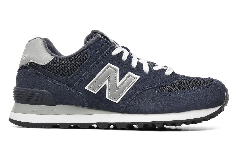 Sneaker New Balance M574 blau ansicht von hinten