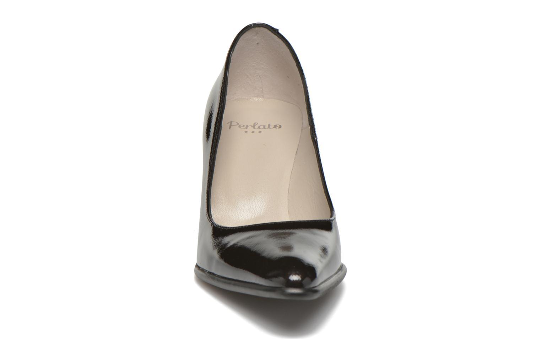 Escarpins Perlato Paula Noir vue portées chaussures