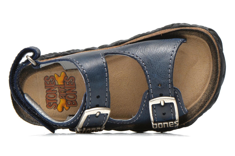 Sandales et nu-pieds Stones and Bones Wham Bleu vue gauche