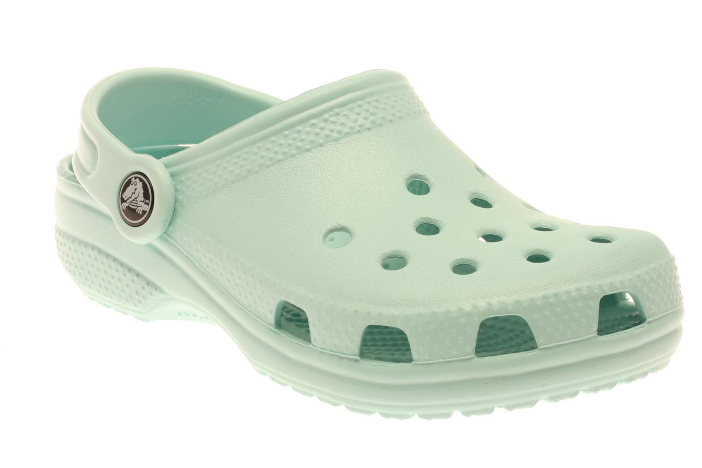 Sandaler Crocs Classic Kids Blå detaljerad bild på paret