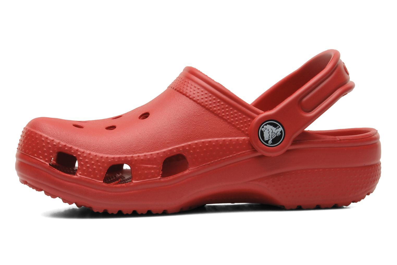 Sandales et nu-pieds Crocs Classic Kids Rouge vue face