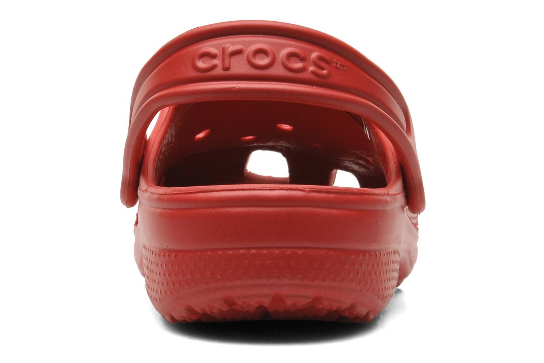 Sandaler Crocs Classic Kids Rød Se fra højre