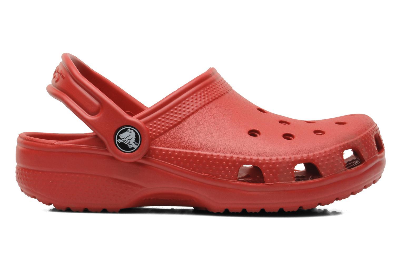Sandaler Crocs Classic Kids Rød se bagfra