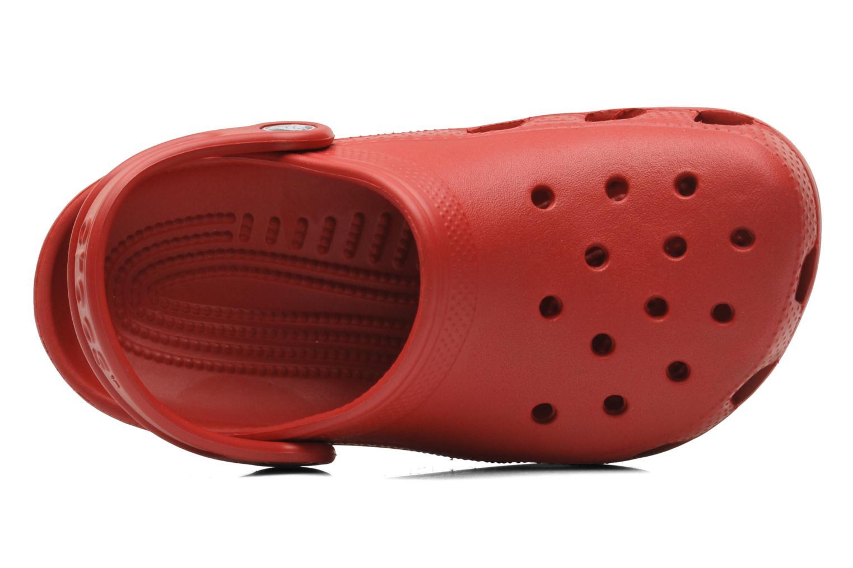 Sandalen Crocs Kids Cayman rot ansicht von links