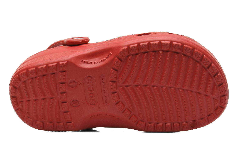 Sandaler Crocs Classic Kids Rød se foroven